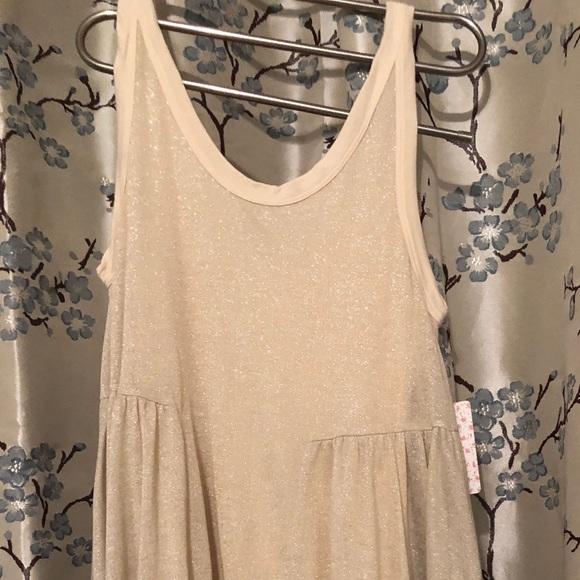 Free People Dresses & Skirts - FP FLOWING CREAM GOLD MEDIUM DRESS